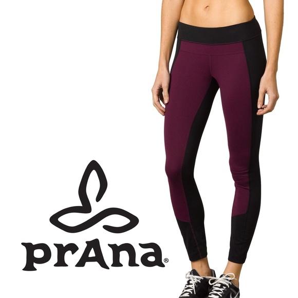 8d21e00dae prAna Pants   Blackplum Womens Gabi Yoga Leggings   Poshmark